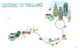 COSTUMS OF ENGLAND