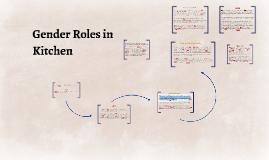 Copy of Kitchen Focus Study : Gender