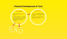Historical Development of Torts 2013
