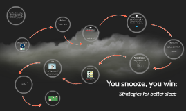 You snooze, you win: Strategies for better sleep