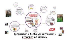 Optimización a Centro de Distribución : ECONORED DE PANAMÁ