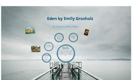 Eden- Poetry Project