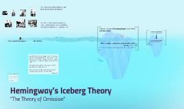 hemingway s iceberg theory ko by michelle schloss on prezi