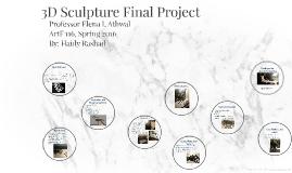 3D Sculpture Final Project