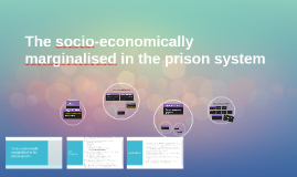 The socio-economically marginalised in the prison system