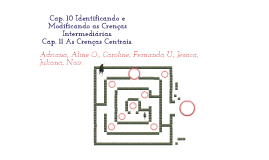 Cap. 10 Identificando e modificando as crenças intermediárias.