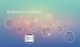 Rediscover Culture