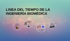 LINEA DEL TIEMPO DE LA INGENIERÍA BIOMÉDICA