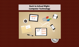 Back To School Night Computer Technology
