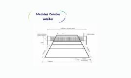 Copy of Medidas de la cancha de Voleibol