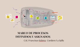 Copy of Copy of MARCO DE PROCESOS DEFINIDOS Y ASIGNADOS