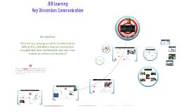 JLB Learning Key Dimension : Communication