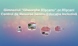 """Gimnaziul """"Gheorghe Rîșcanu"""",or.Rîșcani"""