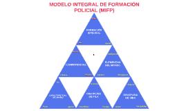 MODELO INTEGRAL DE FORMACIÓN POLICIAL MIFP