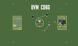 UVM CDBG