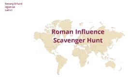 Latin I Scavenger Hunt TMA