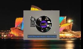 Copy of AUSTRALIAN MUSIC FESTIVALS