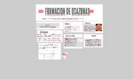 FORMACION DE OSAZONAS