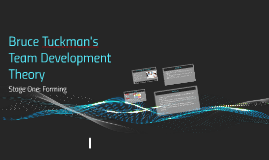 Bruce Tuchman's Team Development Theory