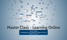 Master Class Series: Learning Online