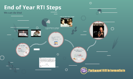 End of Year RTI Steps