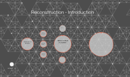 Reconstruction - Introduction