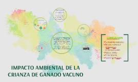 impacto ambiental de la crianza de ganado vacuno