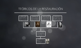 Copy of TEORICOS DE LA RESTAURACION