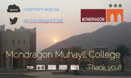 Mondragon Muhayil College