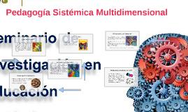 Pedagogía Sistémica Multidimensional