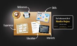Desktop Prezumé by Nadia Rojas
