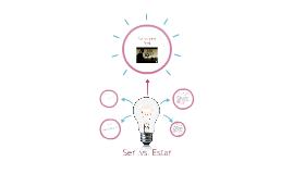Ser .vs. Estar