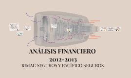 ANÁLISIS FINANCIERO 2012-2013