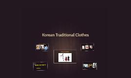 Copy of Korean Traditional Clothes