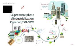 Copy of La première phase d'industrialisation