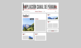 AMPLIACIÓN CANAL DE PÁNAMA.