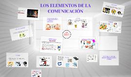 Copy of Copy of LOS ELEMENTOS DE LA COMUNICACIÓN