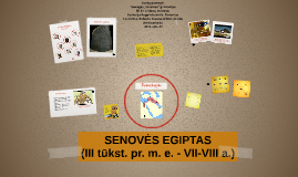 SENOVĖS EGIPTO CIVILIZACIJA