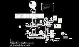Proposta de implementação de Diário Oficial do Legislativo d