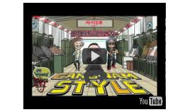 Everyday I'm Gangnam Style