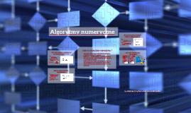 Algorytmy numeryczne