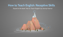 Copy of How to Teach English: Receptive Skills