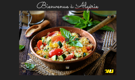 Bienvenue à Algérie