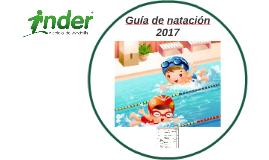 Guía de natación 2017