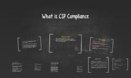 What is CSP Compliance