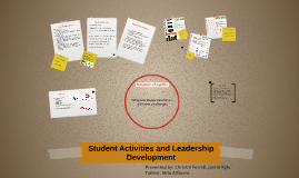Student Activities & Leadership Development