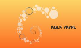 BULA PAPAL