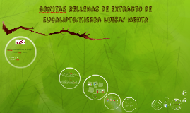 Gomitas de eucalito/menta/hierba buena