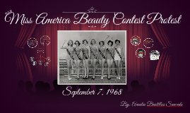 Miss America Beauty Contest Protest