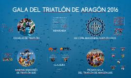 GALA DEL TRIATLON DE ARAGÓN 2015